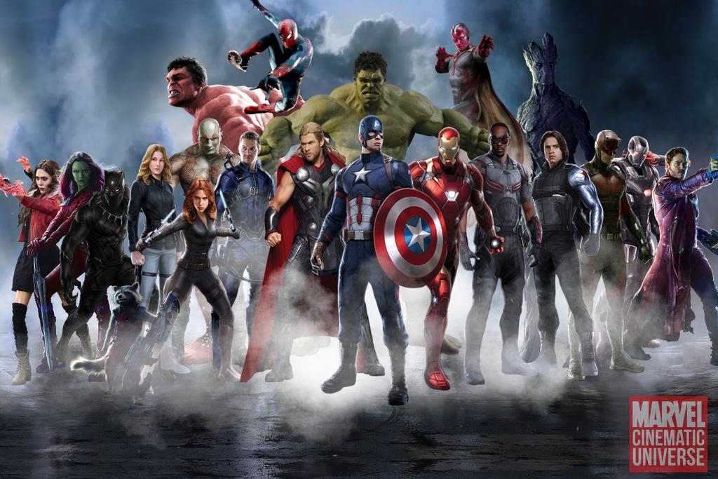 Marvel Cinematic Universe Heroes By Mrsteiners On Deviantart