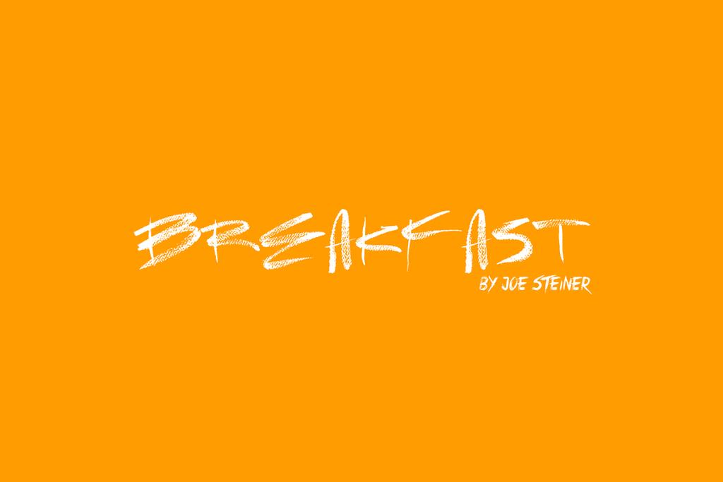 VIDEO: 'Breakfast' by Joe Steiner by MrSteiners