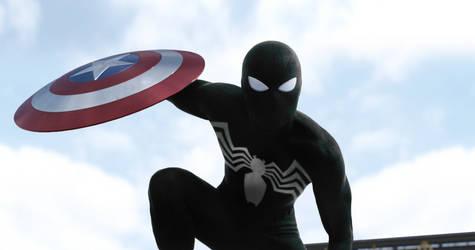 Marvel's Spider-Man - Symbiote by MrSteiners