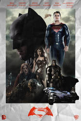Batman v Superman: Dawn of Justice - POSTER