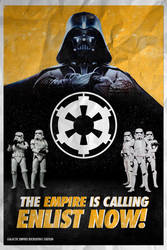 Galactic Empire Recruitment Poster - ROGUE ONE