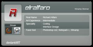 My Dev Id by elralfaro