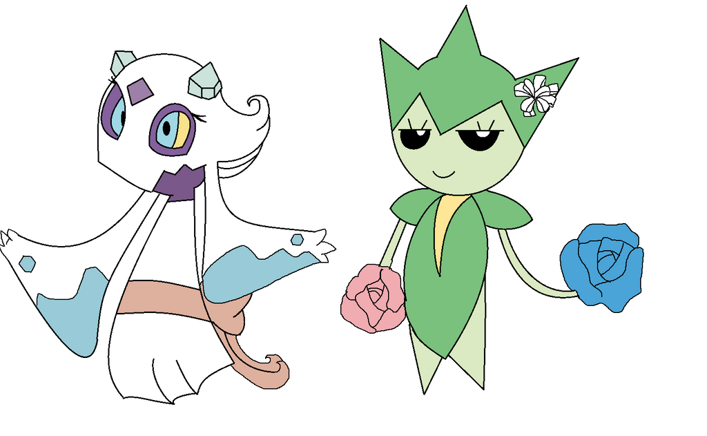 The gallery for --> Gardevoir And Mewtwo Love