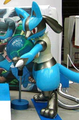 Lucario Latex Costume by dante-Mclaren ... : inflatable latex costume  - Germanpascual.Com