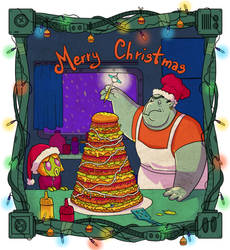 Christmas - Ben  Jerry by nastasiaki88