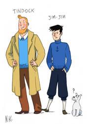 Roleswap - Tintin by nastasiaki88