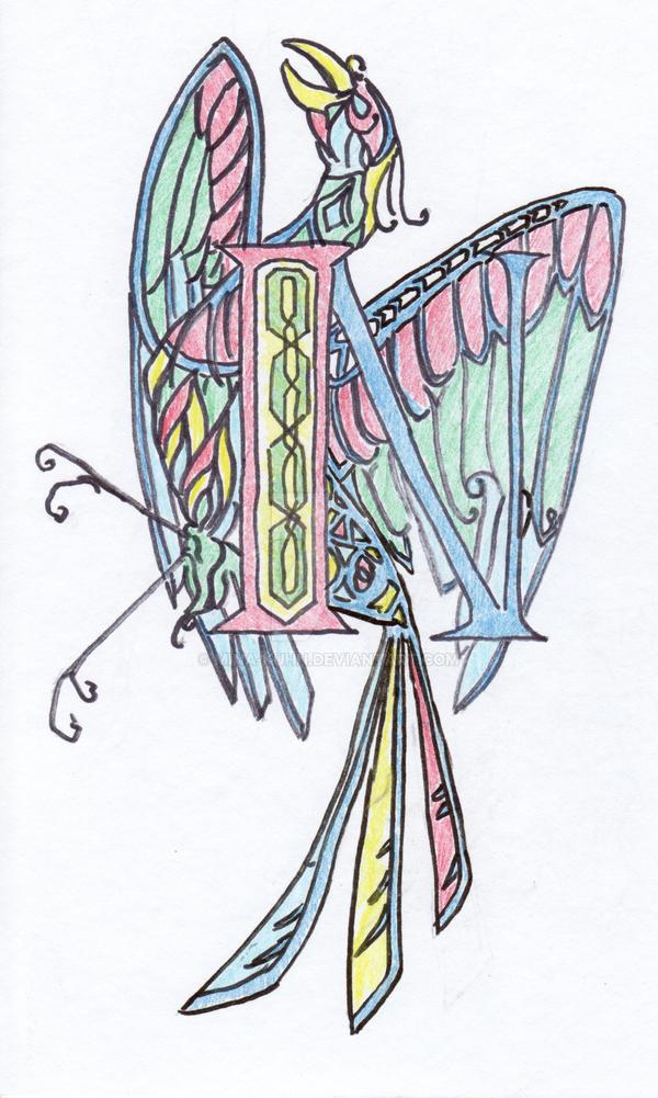 Illuminated Letter N by Mina-Kuhn on DeviantArt