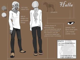 AatR2 OC-sheet: Halla