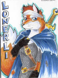 Lonerli Badge for MFF by Lonerli