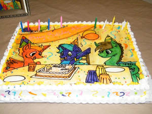 Happy Birthday MLP Cake