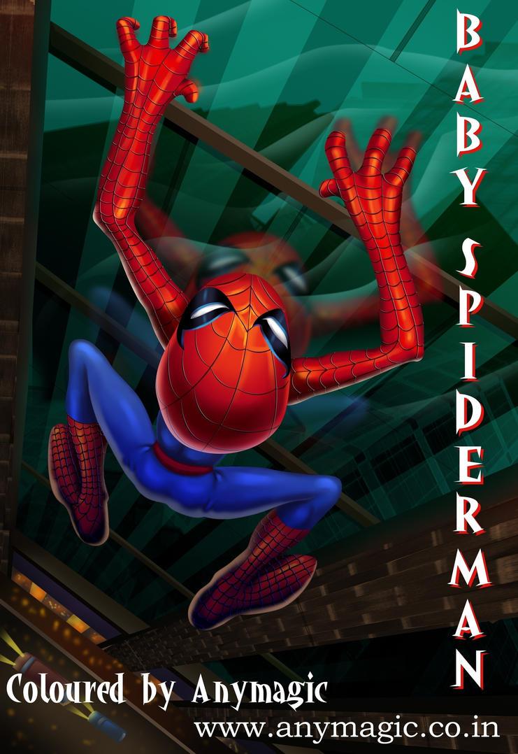 Spiderman Baby Wallpaper Crazywidowinfo