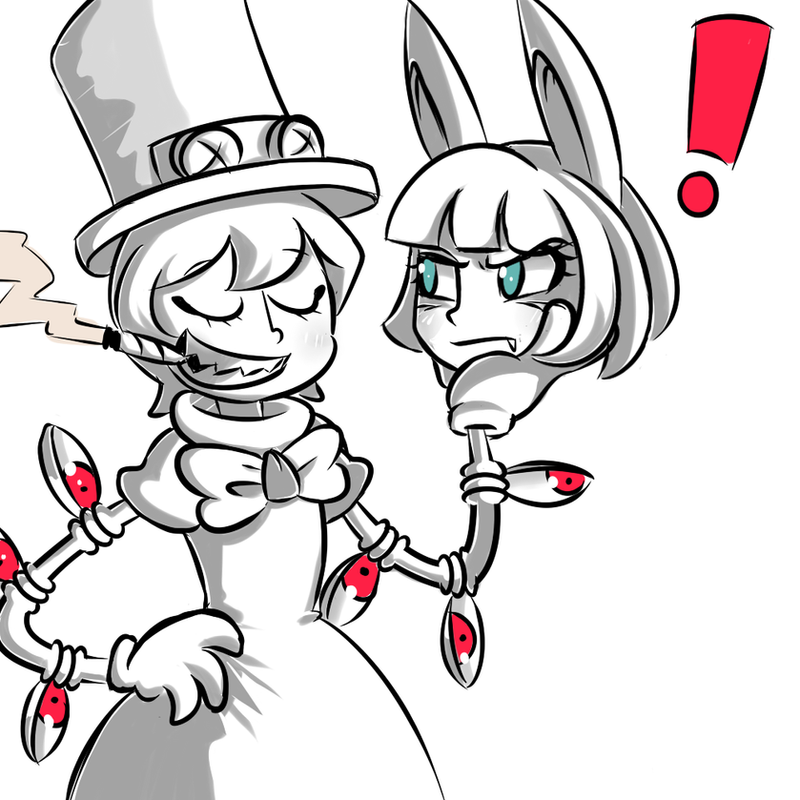 Peacock and Ms. Fortune by Kupomoty