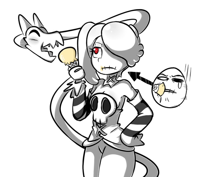 Squigly and Leviathan by Kupomoty