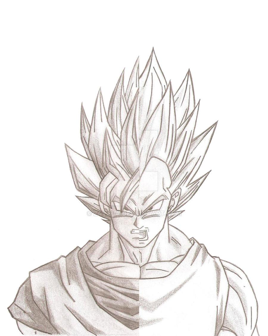 Goku o Vegeta by Z4VALA on DeviantArt