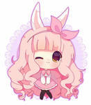 Pinky fluffy