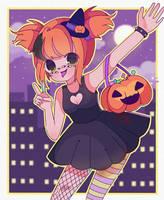 Naughty pumpkin! by Creamyniwii