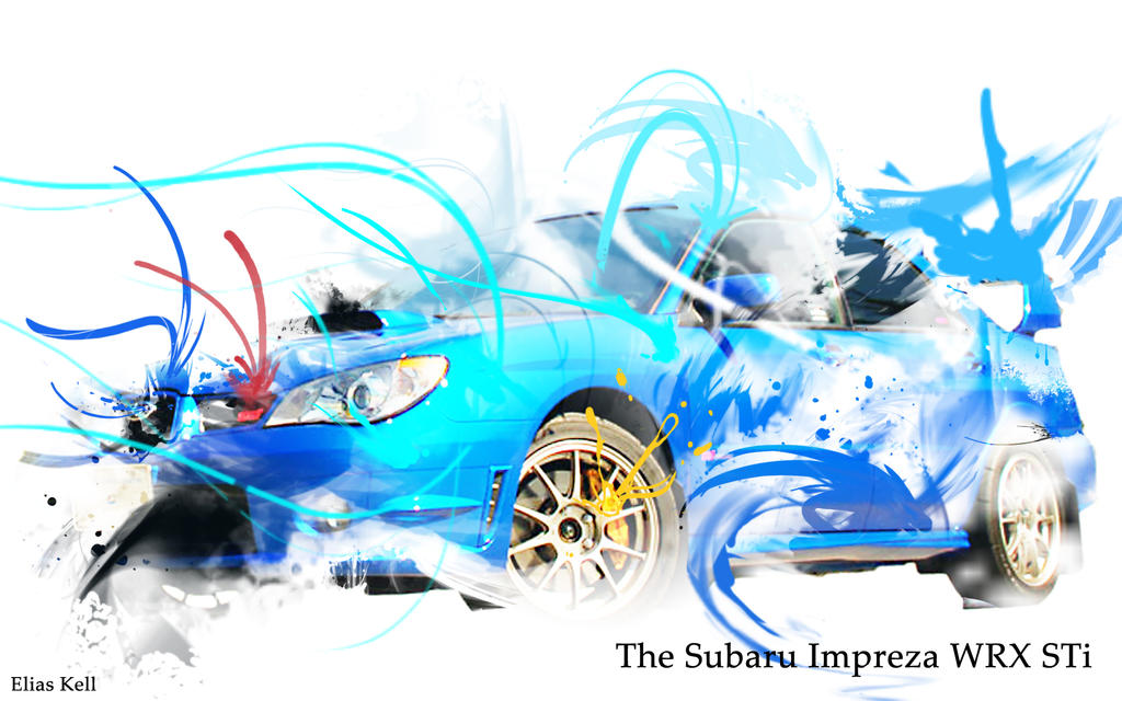 sti wallpaper. Subaru Impreza STI Wallpaper