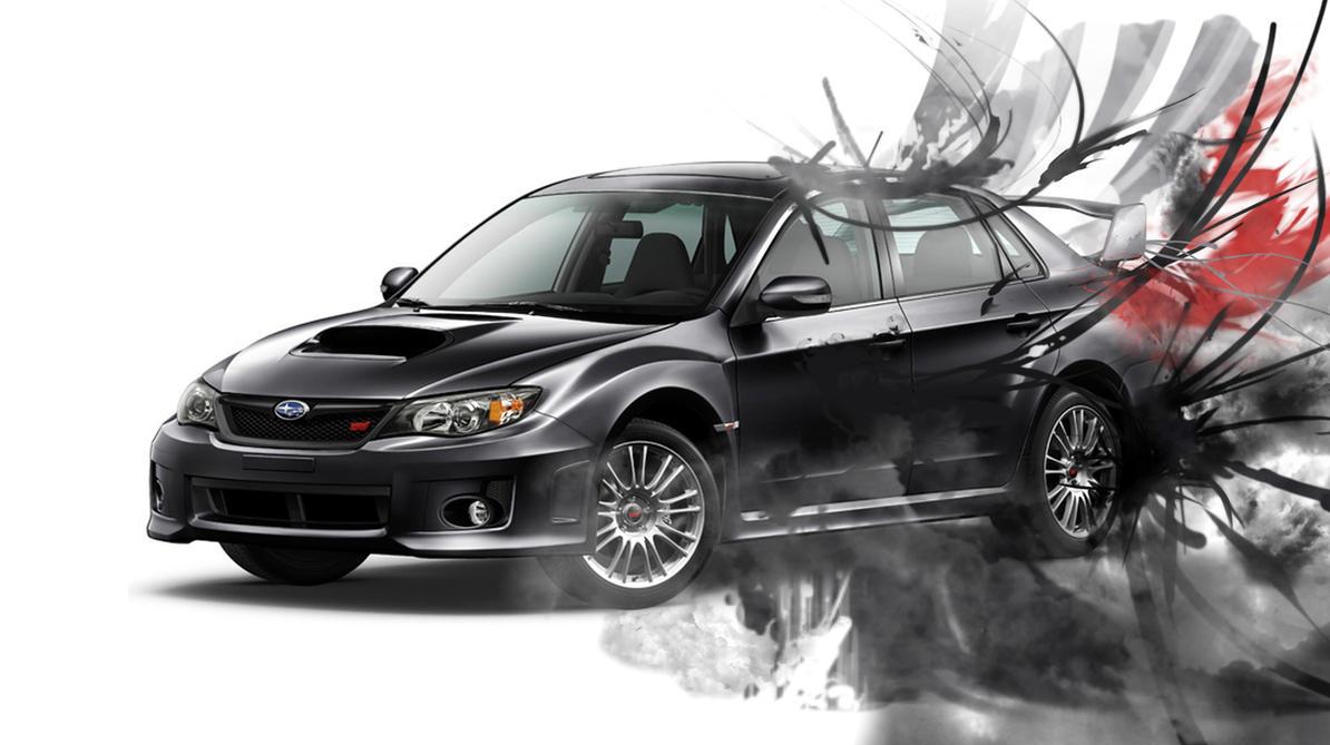 2011 Subaru WRX STI Wallpaper by EliasKell on DeviantArt