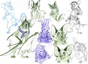 Sketches by Cryspan