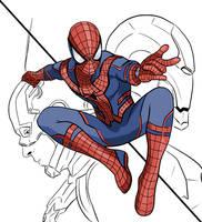 Spiderman by isansesu0803