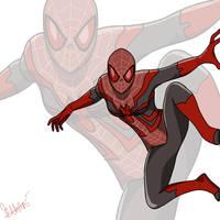 Spider-MJ by isansesu0803