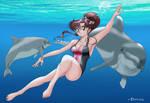 Cartoon Crushes - Swiming with Mako