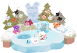 [baobears] ambush by the ice lake