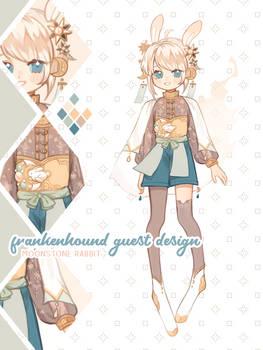 frankenhound gd - moonstone bunny [closed]