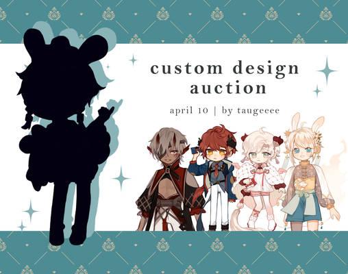 bean custom design auction [CLOSED]