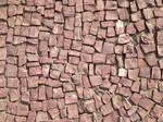 Portuguese stone sidewalk - texture