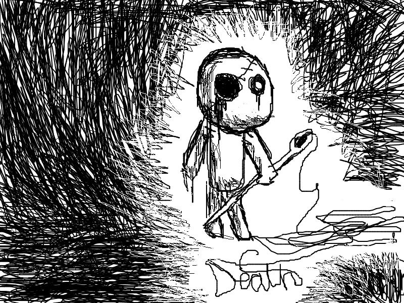 random doodle cus i was bored by icewolf25