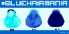 BlueHairMania icon contest by shot-mithos