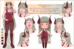 [C] Amiscia Decesare by Moriartea-chan
