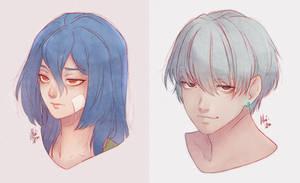 [ArtFight] Umeko and Sam