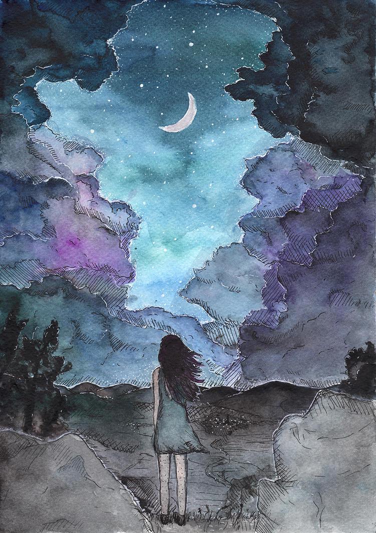 Starry Night by brabikate