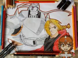 Fullmetal Alchemist by AkihiroTatsumi