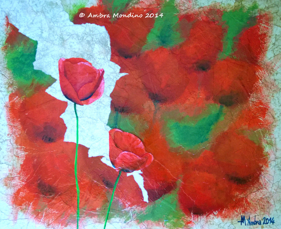 Poppies by flysch