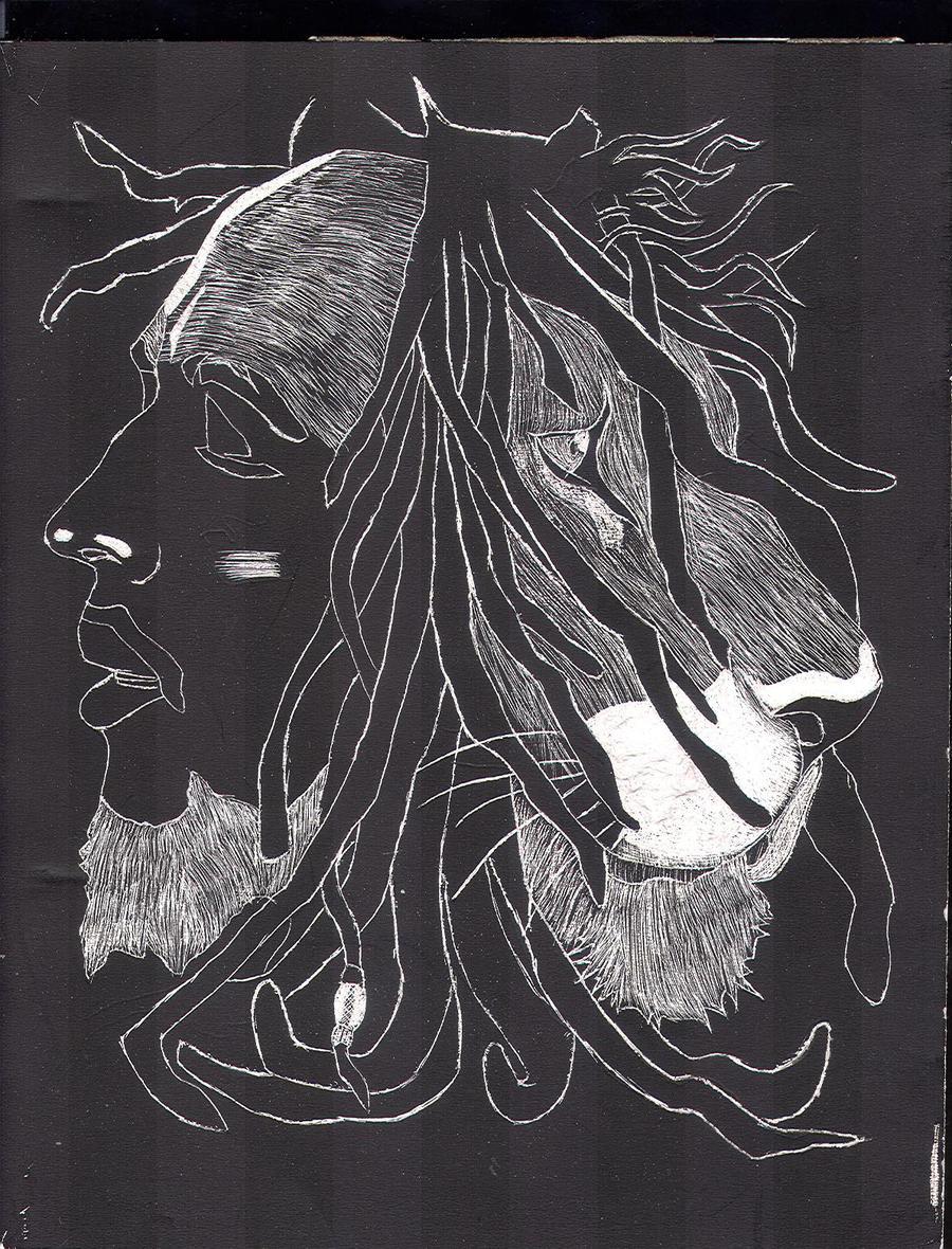 Bob Marley Lion Drawings Mtrvinfo