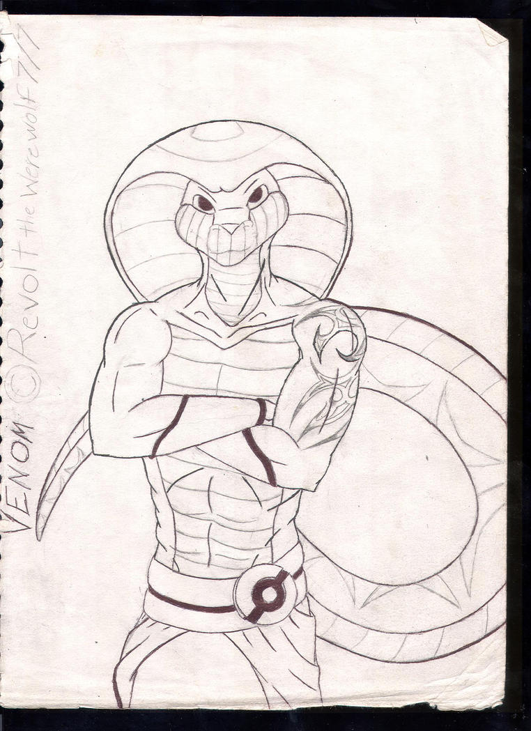 How to draw a king cobra venom the king cobra quot updated quot