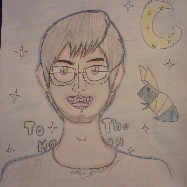 Markiplier ( To the Moon) Fanart by TvGal
