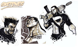 Marvel Sketches