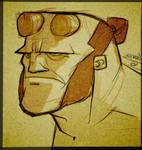 Hellboy Sketch thing