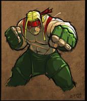 SCRATCH - Street Fighter 01 by DerekLaufman