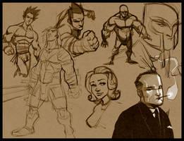 More Random Sketches by DerekLaufman