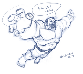 LIVESTREAM -20 min Hulk Sketch