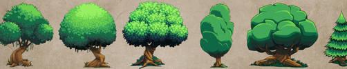 Tree Concepts by DerekLaufman