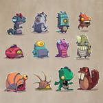 Monsters Concepts 02