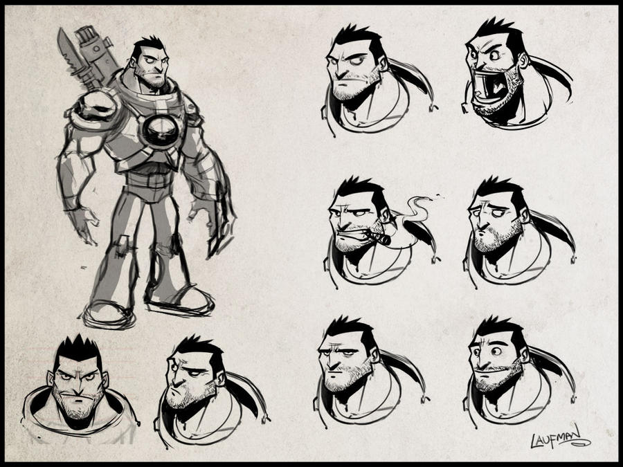 Character Concept - Expressions