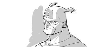 Cap - 10 min Sketch by DerekLaufman