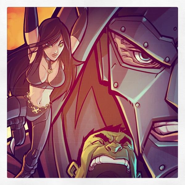 Marvel vs Capcom Sneak Peek by DerekLaufman